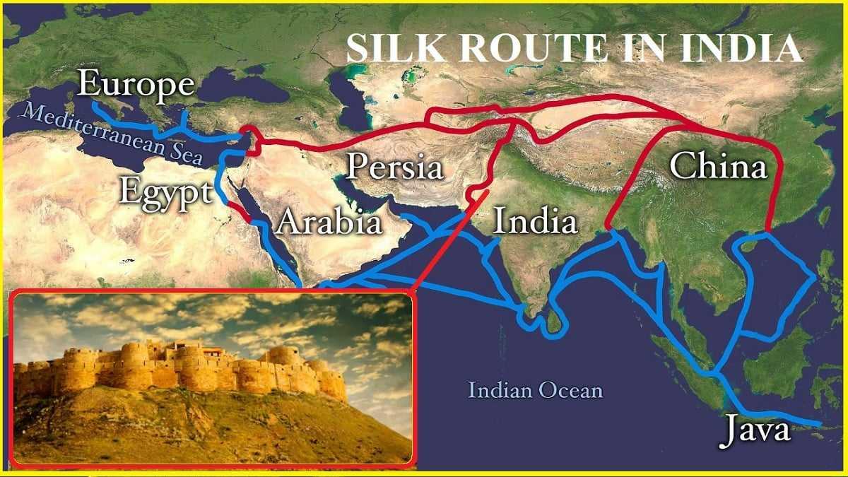 Silk Route In India Jaisalmer Bikaner Punjab