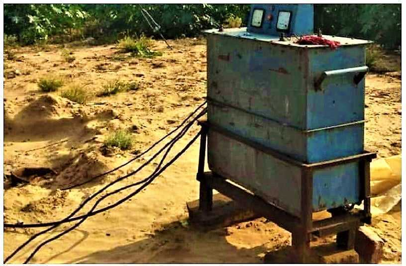 Transformer Seized In Nachna