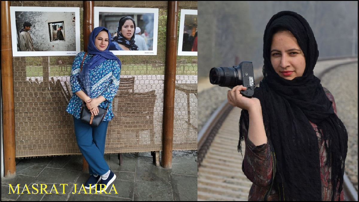 Masrat Zahra Photo Journalist Jammu Kashmir
