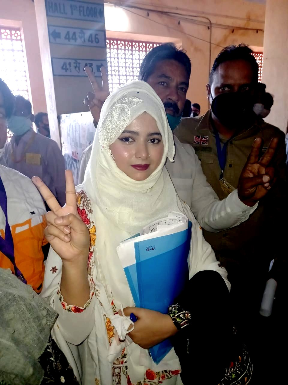 Asma Khan ward number 81 of Jaipur Heritage Municipal Corporation