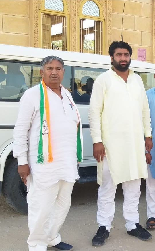 Shiv Narayan Chandak Congress Leader
