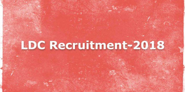 LDC Recruitment-2018