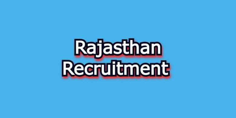 Rajasthan recruitment