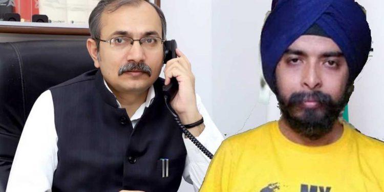 Tajinder Pal Singh Bagga vs virender singh kadian