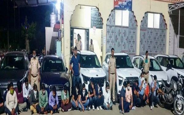 22 bookies caught while preparing for betting on IPL match Jaipur