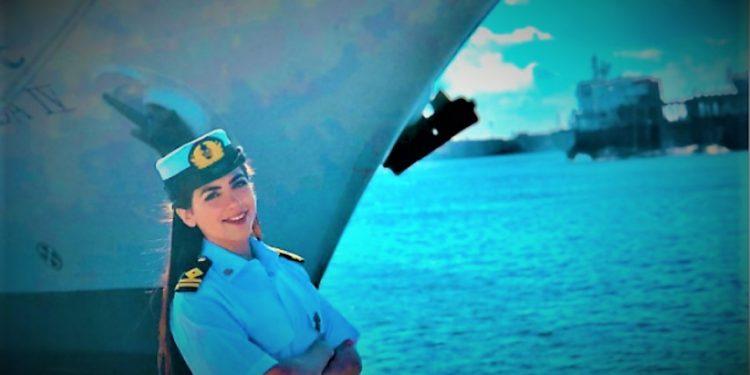 Egypt's first female ship's captain Marwa Elselehdar