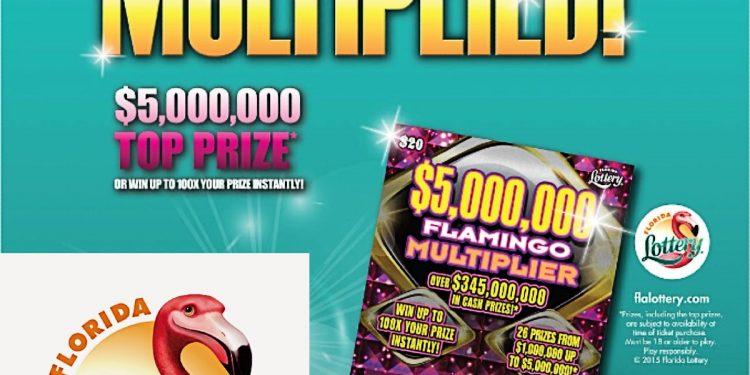 Florida Lottery MONEY MULTIPLIER Scratch-Off Game