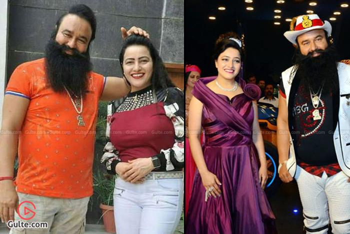 Gurmeet Ram Rahim Singh and Honeypreet