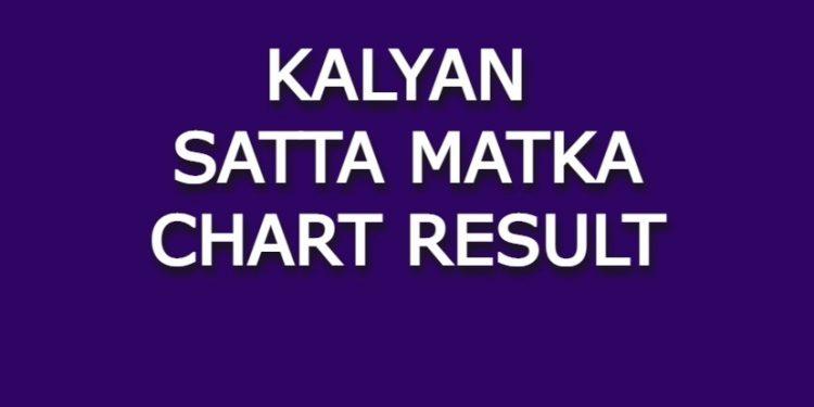 Kalyan Satta Matka Chart Result