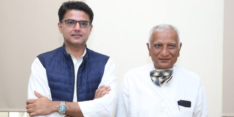 MLA from Sachin Pilot faction Hemaram Chaudhary resigned from the membership of the assembly