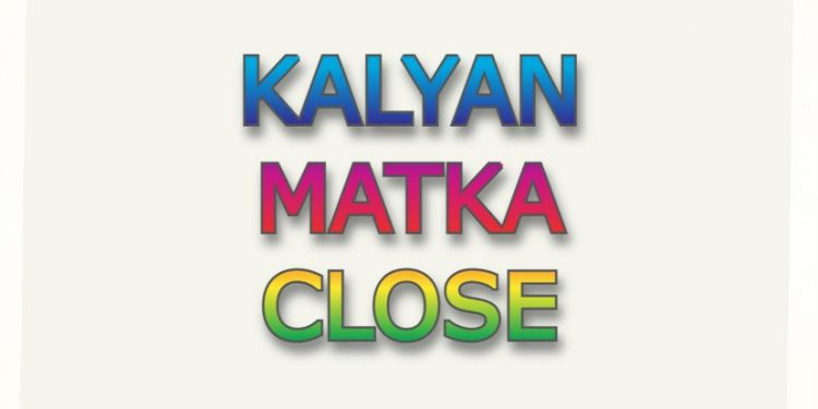 Kalyan Satta Matka Close Ka Result