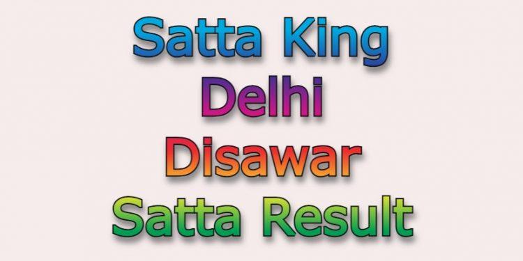 Satta King Delhi Disawar Satta Result